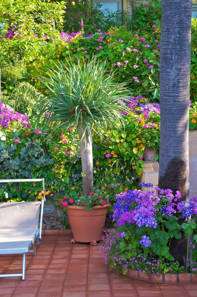 Our garden | Hotel Taormina | Holidays in Sicily | Hotel 4 Star | Boutique Hotel Taormina